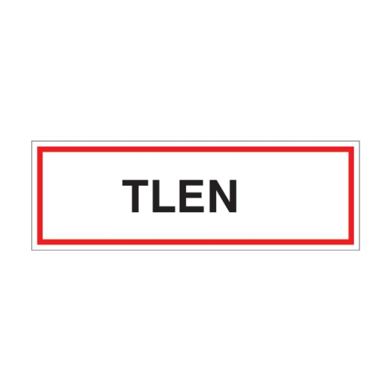 Znak Tlen 300x100 PB