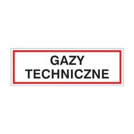 Znak 19 Gazy techniczne 300x100 PB