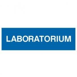 Znak Laboratorium 300x100 PB