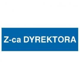 Znak Z-ca dyrektora 300x100 PB