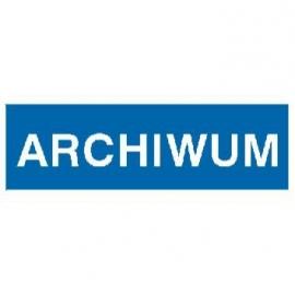 Znak 21 Archiwum 300x100 PB