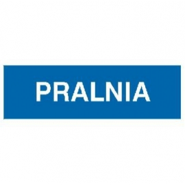 Znak Pralnia 300x100 PB