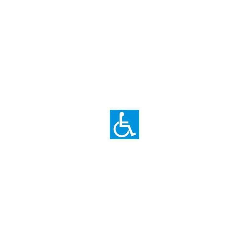 Znak 19 WC dla inwalidów 100x100 PB