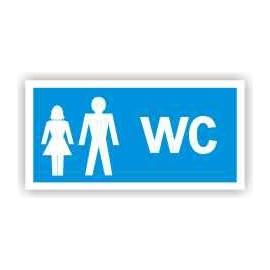 Znak 19 WC para 200x100 PB