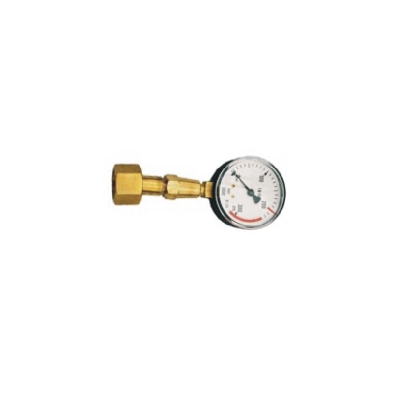 Manometr kontrolny do butli azotowej
