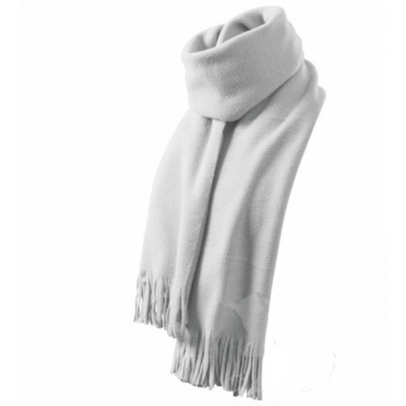 Szalik polarowy unisex scarf 230 śmietankowy
