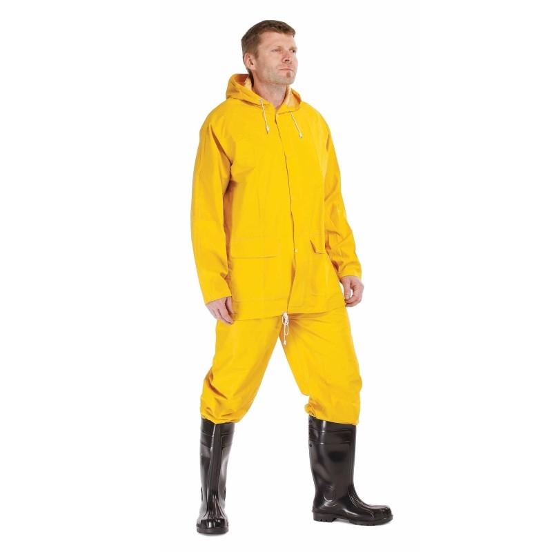 Ubranie przeciwdeszcz.2-częściowe HYDRA żółte XXL