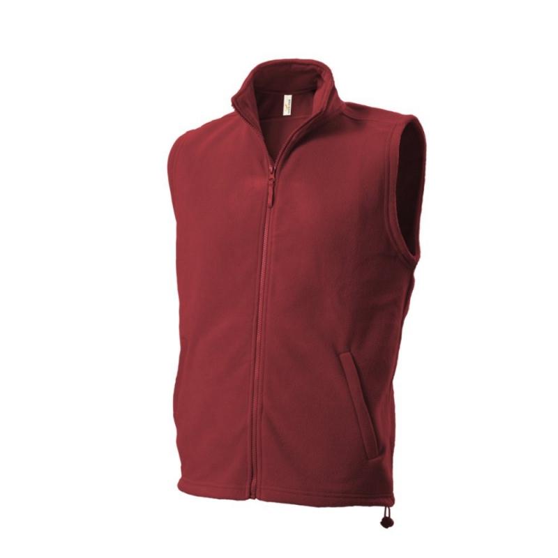 Kamizelka polarowa 402 Fleece Vest Red r.S