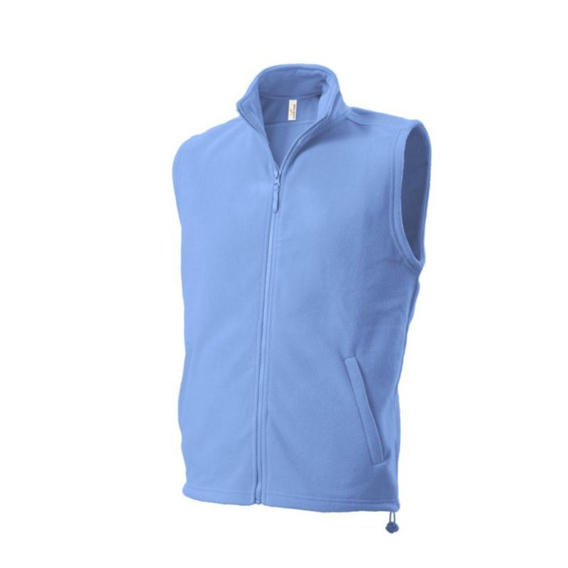 Kamizelka polarowa 402 Fleece Vest Azure Blue r.XS