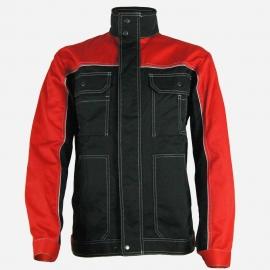 Bluza robocza AVA HELIOS czerw-czarna roz.50