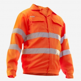Bluza robocza pomar/odbl FLASH roz.50