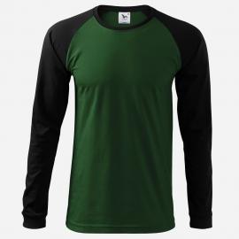 Koszulka 130 Street dł.ręk.zielona/czarna r. M