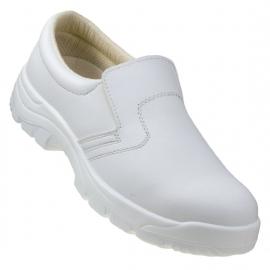 Buty - Półbut biały 251 S2 z podn URG roz.37