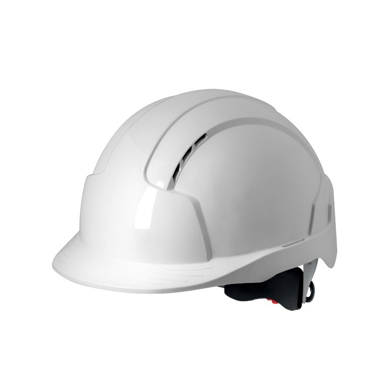 Hełm ochronny kask pokrętło/TEXT EVOLite JSP biały