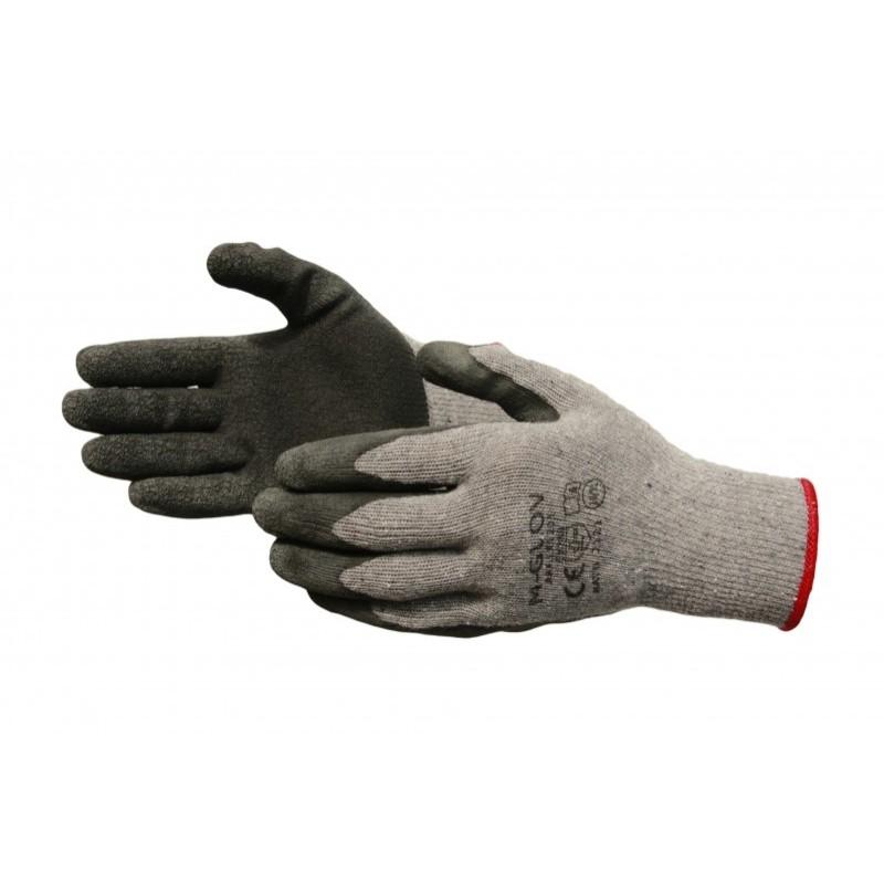 Rękawice ochronne powlekane gumą L-1202 r.9