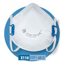 Półmaska filtracyjna X110 FFP1 NR D b/zaw