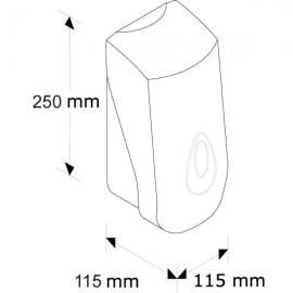 Dozownik płynu dezyn. spray 1000 ml MERIDA TOP OC