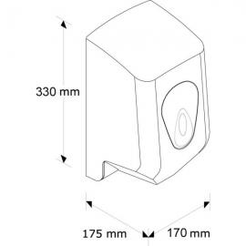 Pojemnik na ręczniki papierowe MERIDA TOP MINI OS