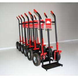 Wózek na mobilny zestaw gaśniczy MZG