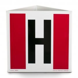 Znak 12 Hydrant przestrzenny 500x500 MET