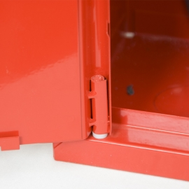 Hydrant wewnętrzny HW-25N/W - 20/30MB MODUŁOWY SLIM czerwony