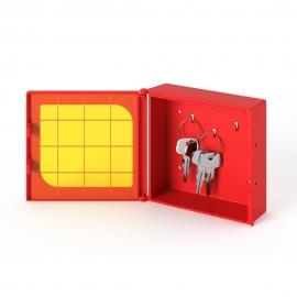 Kasetka na klucz do drzwi ewakuacyjnych bezpieczna