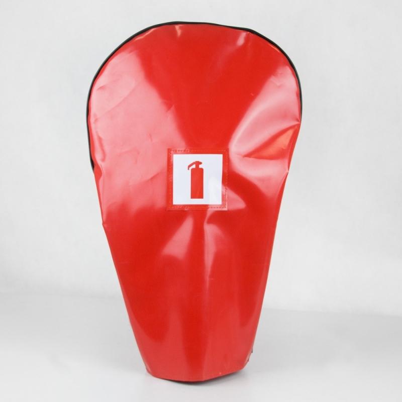 Pokrowiec na gaśnice GP6 (kaptur czerwony)