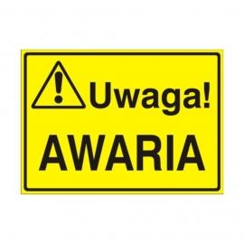 Znak Tablica Uwaga! Awaria