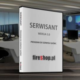 Program komputerowy SERWISANT - Gaśnice ver. 3.0