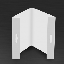 Wysięgnik do znaków 3D V 350x350 mm PCV