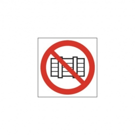 Znak Nie zastawiać 150x150 PF
