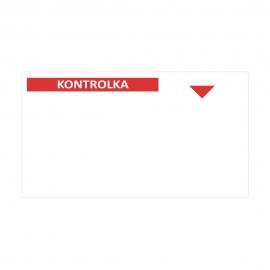 Kontrolka serwisowa folia samoprzylepna 23FS [bO]