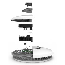 Czujka detektor dymu bateria litowa 10lat ST-622-PL Fire