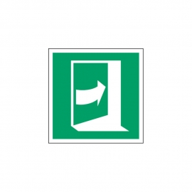 Znak E023 Pchać z prawej aby otworzyć E23
