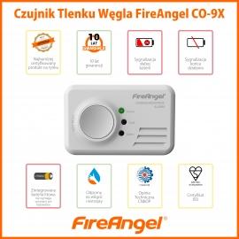 Czujka - czujnik tlenku węgla CO-9X10 Fire 10lat