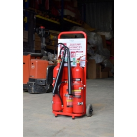 Mobilny zestaw gaśniczy Trolley2 ZGP-PR6/S10/K2