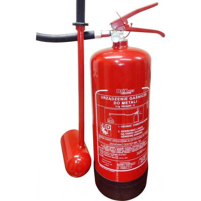 Urządzenie gaszące metale UGM- 6x D