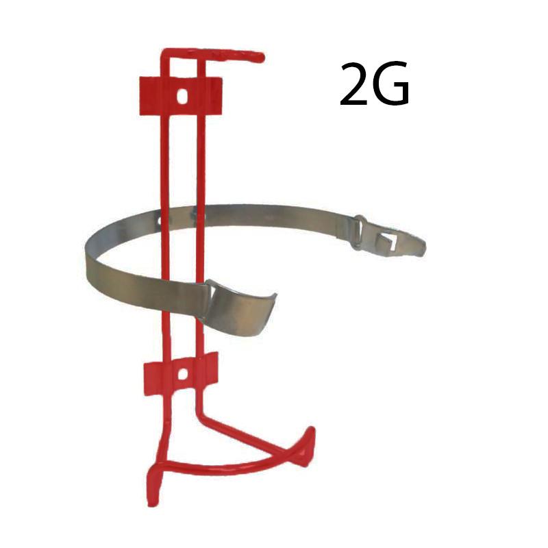 Wieszak gaśnicy GP 2 z opaską G