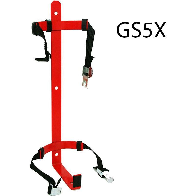 Wieszak gaśnicy GS5 z opaską - zap. G