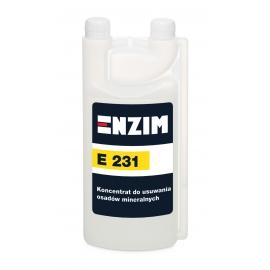 E231 Koncentrat do usuwania osadów mineralnych 1L