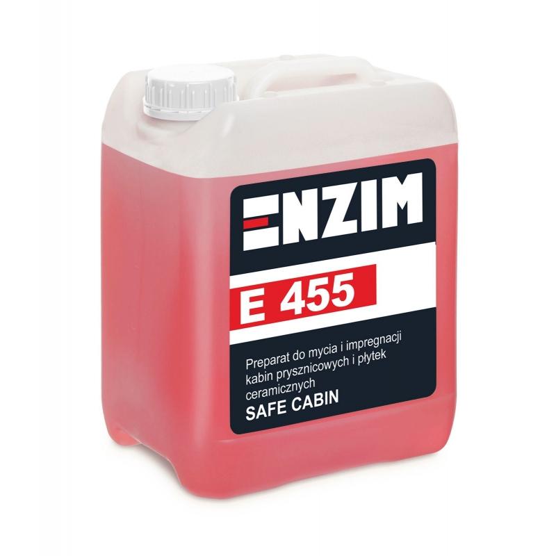 E455 Preparat do mycia i impregnacji kabin / płytek ceramicznych Safe Cabin 5L