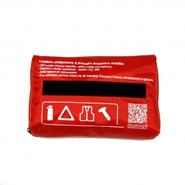 Apteczka z wyposażeniem saszetka L-2 DIN 13164