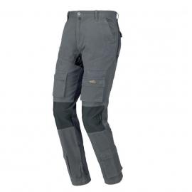 Spodnie robocze STRETCH ON nieb/szare/zielone