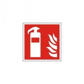 Znak F001 Gaśnica ISO7010 F01