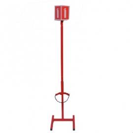 Stojak na gaśnice z masztem SGM1x (4-12)