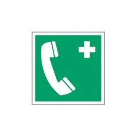 Znak LEVI E04 Telefon alarmowy E004 150x150 PF