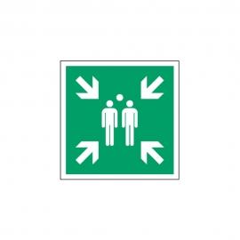 Znak LEVI E07 Miejsce zbiórki do ewakuacji E007 150x150 PF