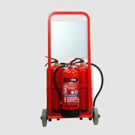 Mobilny zestaw gaśniczy Trolley2 ZGP-PR24/P6