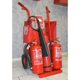 Trolley 2 MAX - wózek z gaśnicami, koc, hydronetka