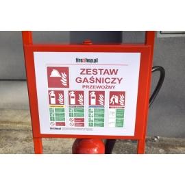 Mobilny zestaw gaśniczy Trolley2 ZGP-PR12/P6/S5/K2